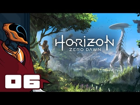 Let's Play Horizon Zero Dawn - PS4 Gameplay Part 6 - Ooooh! Boom Barrels!