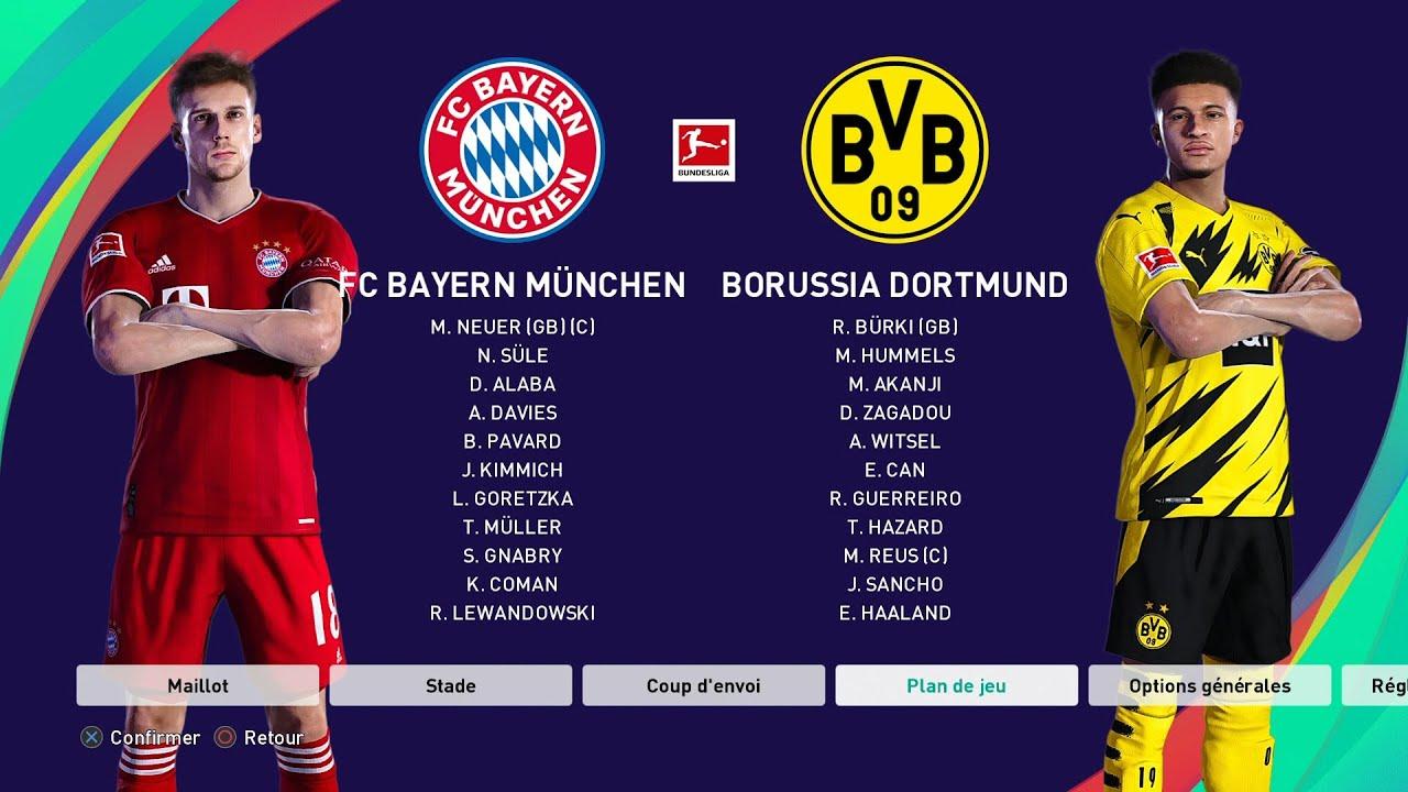 Karten Dortmund Bayern 2021