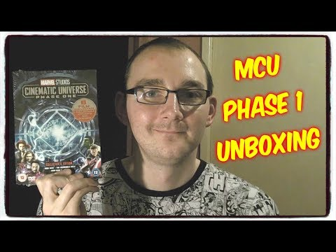 Marvel Studios Cinematic Universe: Phase One  Collector's Edition Box Set UK Unboxing