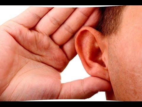 Как улучшить слух народными средствами в домашних условиях. Тугоухость. Отит  метод  №1