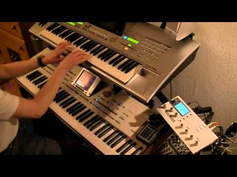 Edward Maya & Vika-Stereo Love (игра на синтезаторе PA2X+Yamaha Tyros 3...)