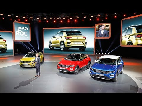 2018 Volkswagen T-Roc & I.D. Crozz unveiled at the Frankfurt Motor Show