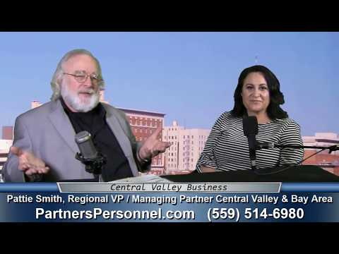 Pattie Smith of Partners Personnel on Central Valley Business