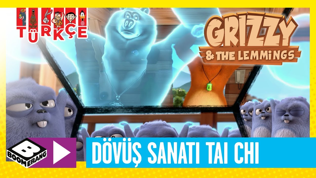 GRIZZY VE LEMMINGLER   Tai Chia Yapan Lemmingler   Boomerang TV Türkiye