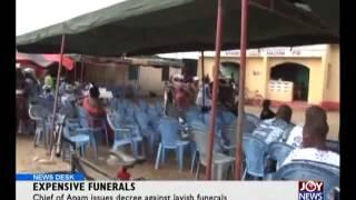 Expensive Funerals - News Desk (28-5-15)