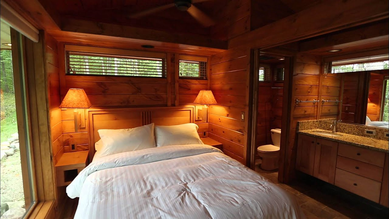 Tiny House Hunting Luxury Micro Cabins In Wisconsin