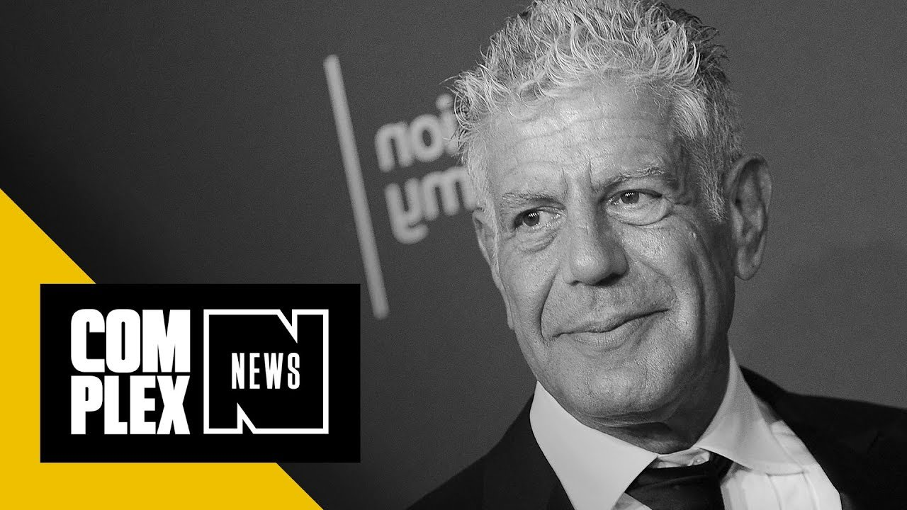 Anthony Bourdain Dead At