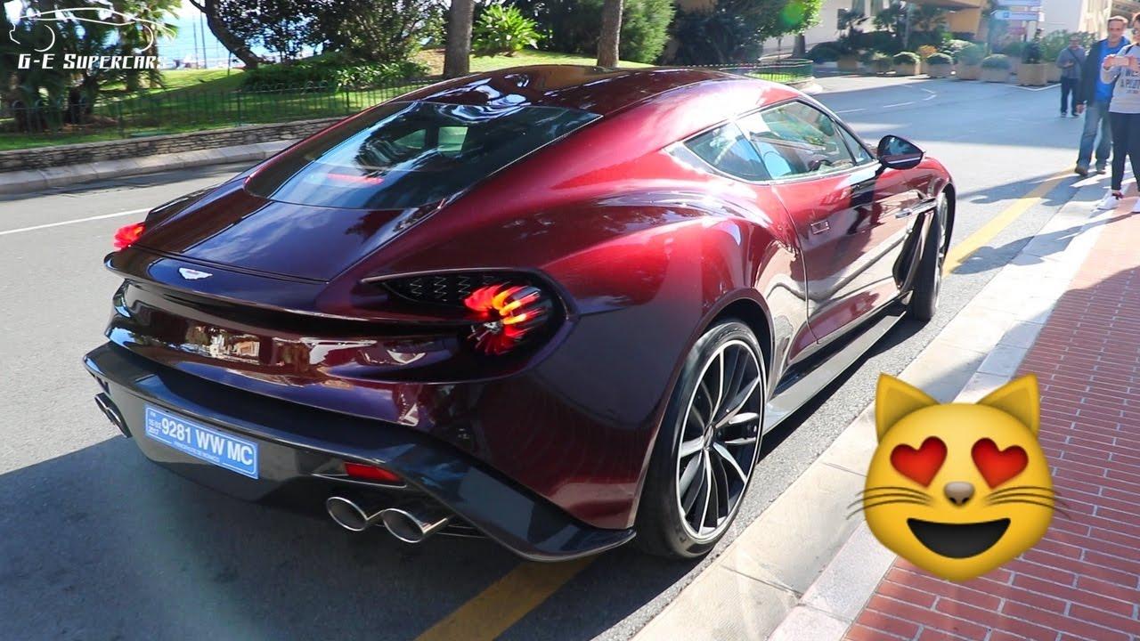 Aston Martin Vanquish Zagato V Sound Start Up YouTube - New aston martin zagato