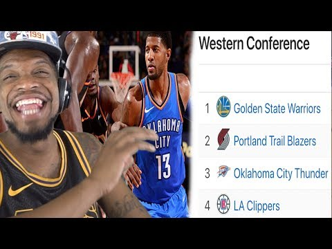 THUNDER ARE ABOUT TO BE IN 1ST PLACE HAHAHA WHAT NOW HATERS!?!?!