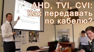 видео AHD, TVI, CVI Видеонаблюдение