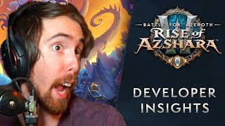 Asmongold Reacts To Rise Of Azshara Dev Insight And Classic WoW Release