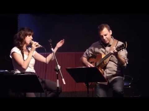 "BELÉN GÓMEZ & ISRAEL SANDOVAL ⁄ Bogui Jazz, 10 dec  2014 ""Overjoyed"""