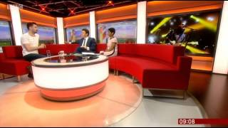 The Courteeners Liam Fray on BBC Breakfast 5/6/15