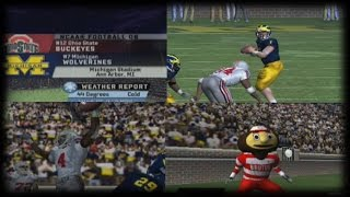RETRO GAME OF THE DAY - NCAA FOOTBALL 06 - MICHIGAN VS OHIO STATE