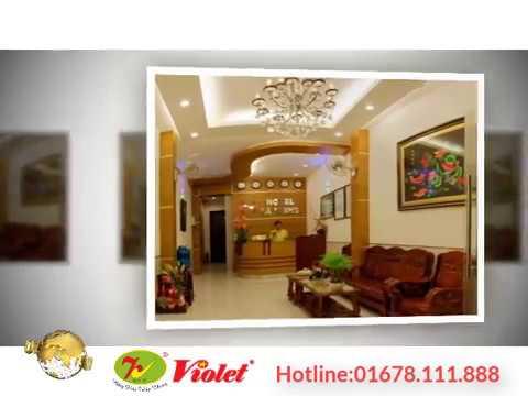 Công trình tiêu biểu Violet thực hiện-Khách Sạn Hà Nhung-Nha Trang