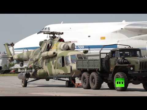 عودة مروحيتين من طراز -مي-8 إيه ام تي اش- من سوريا إلى قواعدها  - نشر قبل 29 دقيقة