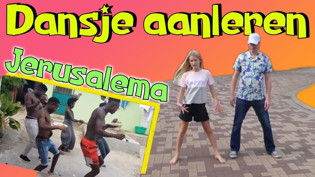 Jerusalema DANS AANLEREN / Master KG Dancehype Tutorial Workout
