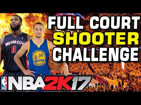 GREATEST NBA FULL COURT SHOOTER CHALLENGE!