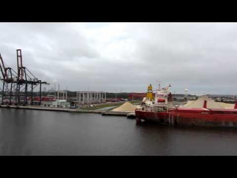 Jacksonville Port, FL - leaving for the bahamas