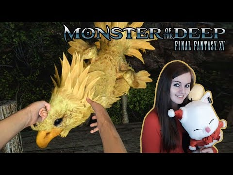 I TOUCHED A CHOCOBO! | Monster Of The Deep: Final Fantasy XV Gameplay Walkthrough Part 2