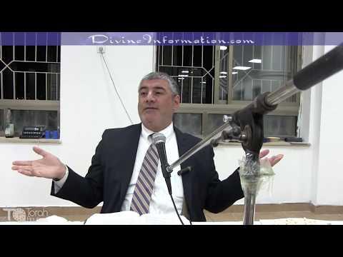 Rabbi Mizrachi In Mikdash Melech Yeshiva (Jerusalem) A Great Motivational Talk