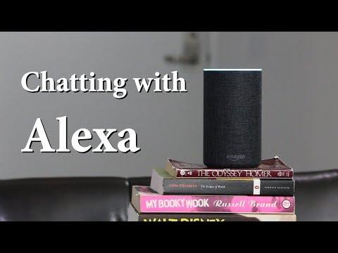 Chatting with Alexa