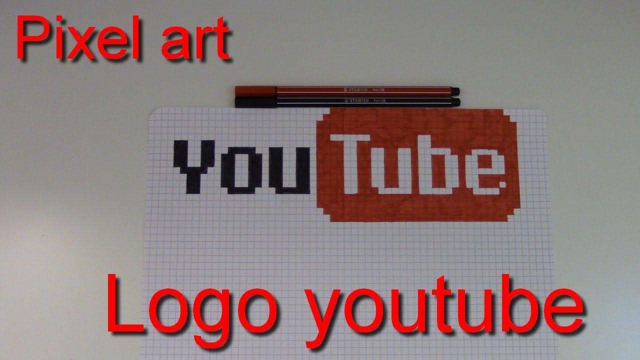 Tuto Logo Youtube En Pixel Art 10 Youtube