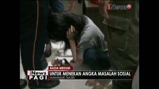 Razia mesum di Makassar, siswi SMP tertangkap basah didalam kamar - iNews Pagi 20/06