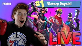 FORTNITE WITH FANS!