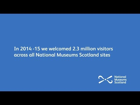 National Museums Scotland in numbers