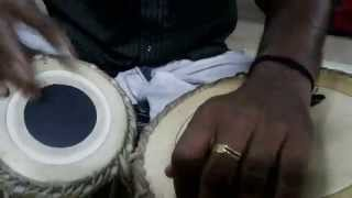 Tabla Play by Prakash  - Kaayampoo Kannil Vidarum - Malayalam Flim Song