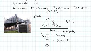 Cosmic Microwave Background Radiation (A level physics)