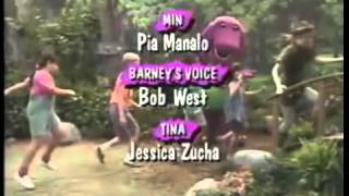 Closing To Barney's Magical Musical Adventure 1992 VHS