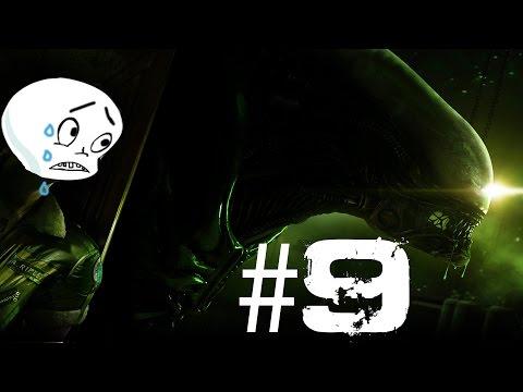 Alien: Isolation (Blind) [Difícil] Parte 9 - Androide Troll y Un Lugar Familiar