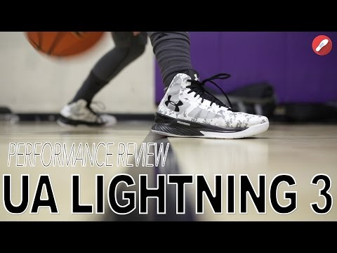 Under Armour Lightning 3 Performance Review!