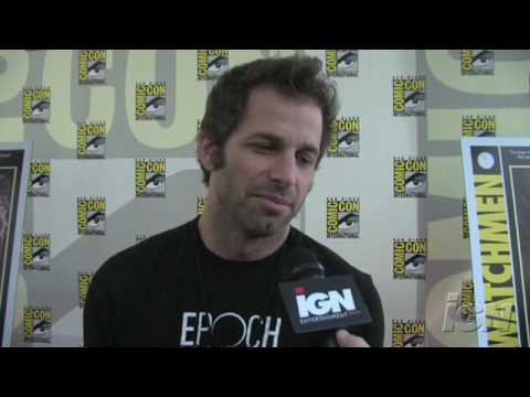 San Diego Comic Con Interview- Zack Snyder