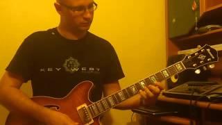 урок импровизации на гитаре. 251 в миноре