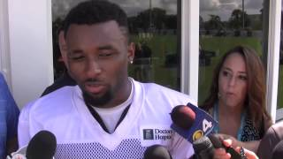 Jarvis Landry Speaks From Dolphins Training Camp
