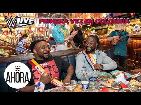 Histórico!!! WWE LIVE agita Colombia: WWE Ahora, Agosto 24, 2019