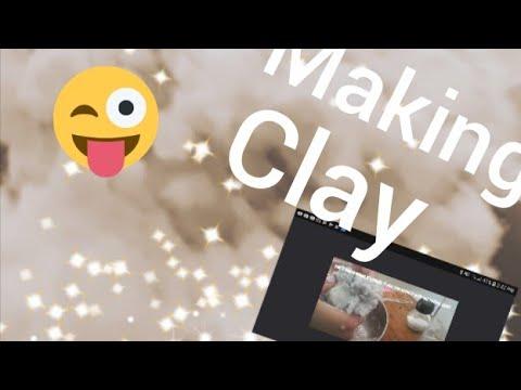 Making paper clay DIY
