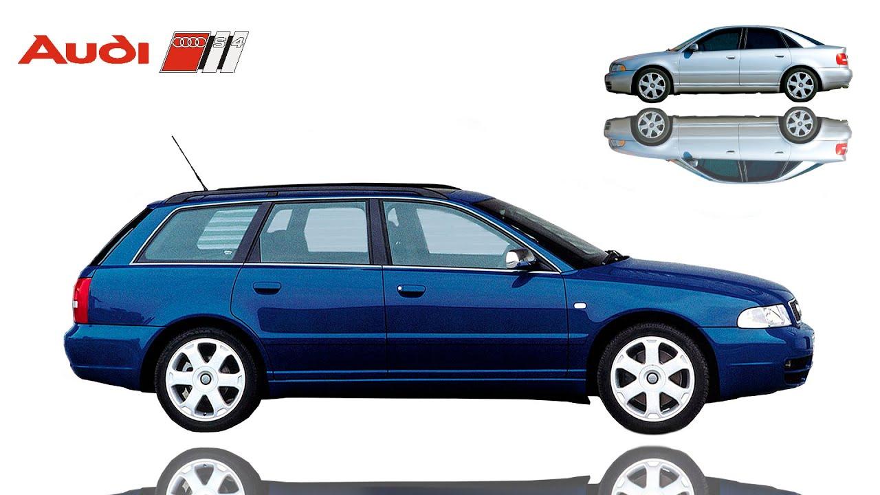 ᴴᴰ 1997 Audi S4 » B5 • (Typ 8D)   sedans / sport estate ...