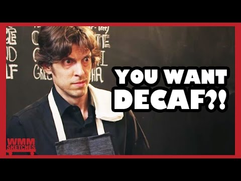 "#Starbucks Rage! ""Decaf"" - WMMSketch #31"
