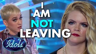 I AM NOT LEAVING HERE WITHOUT A GOLDEN TICKET | Idols Global