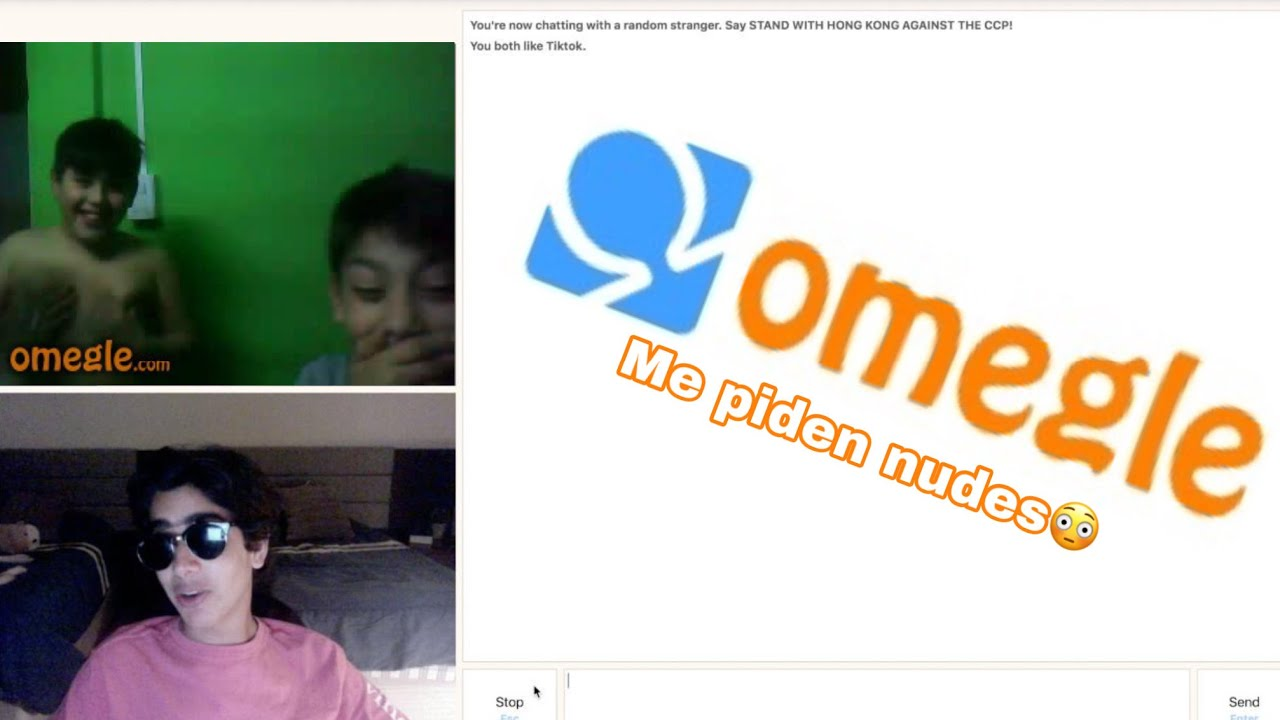 Con youtubers hablar omegle Omegle Video