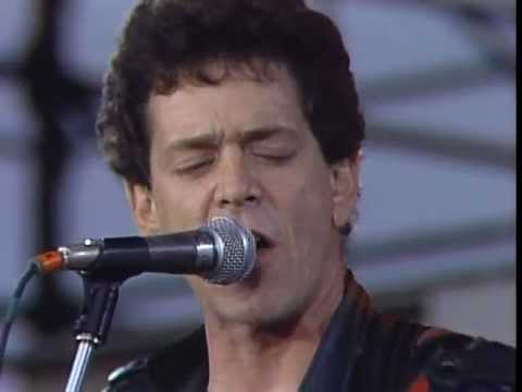 Lou Reed  A Walk On The Wild Side  at Farm Aid 1985