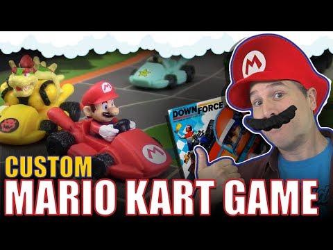 Custom Mario Kart board game | Downforce mashup