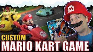 Custom Mario Kart board game | Downforce mashup