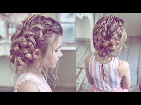 Easy Dutch Braid Updo