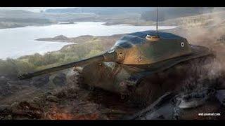 world of tanks bataille avec le AMX CDC , Riviere de sable