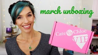 Cate & Chloe March 2018 Unboxing | Jewelry Subscription Box thumbnail